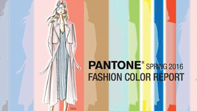 Couleurs pantone printemps 2016