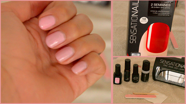 vernis semi permanent kit sensationail