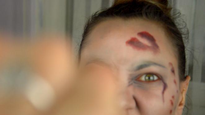 maquillage walking dead