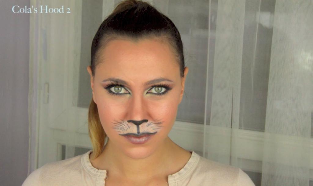 maquillage de chat