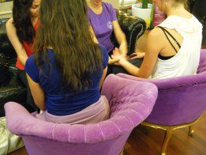 massage main weleda
