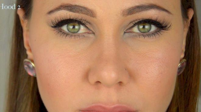 yeux de biche