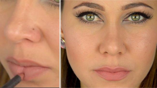 grossir lèvres maquillage