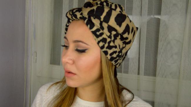 nouer foulard en turban
