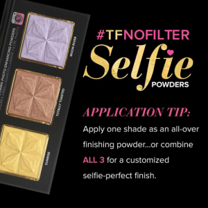 #TFnofilter selfie powders too faced