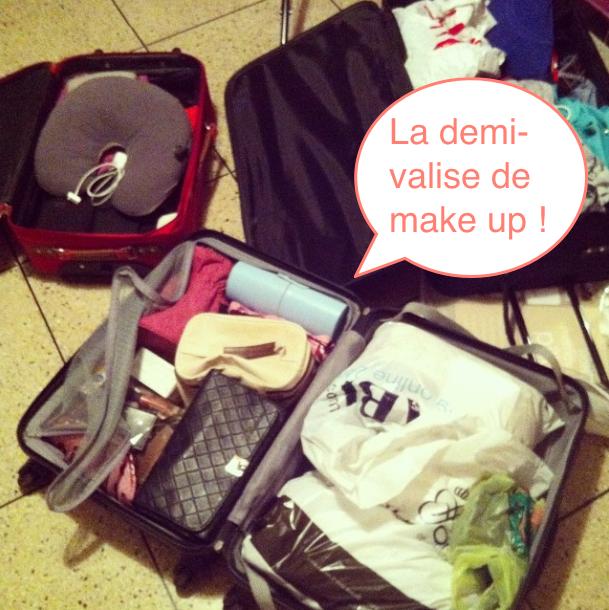 valise de maquillage