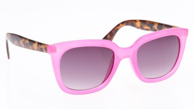 lunettes de soleil rose originales