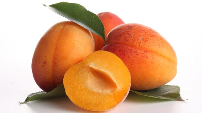 abricots fruits