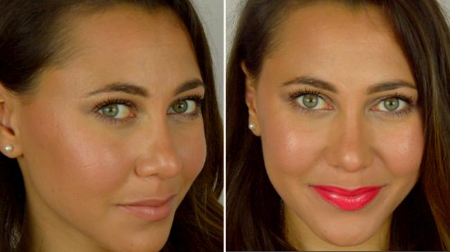 maquillage d'été anti brillance