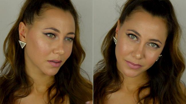 tutoriel maquillage strobing
