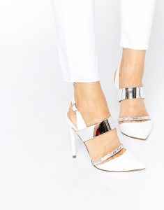 chaussures à talon blanches cookie lyon