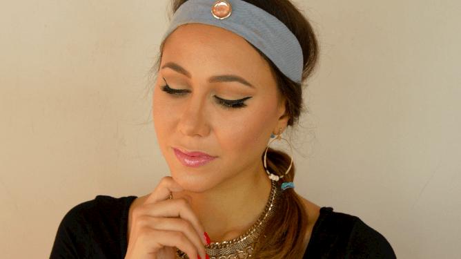 maquillage princesse jasmine