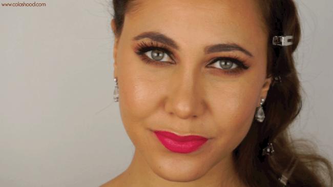 maquillage femme fatale moderne