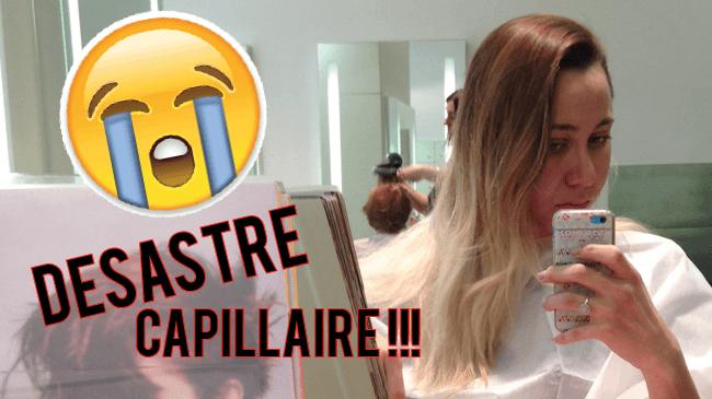 catastrophe capillaire cheveux