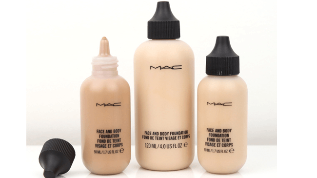 face and body mac cosmetics