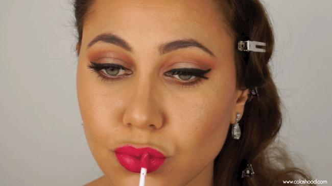 comment se maquiller en femme fatale