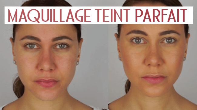 tutoriel maquillage du teint parfait