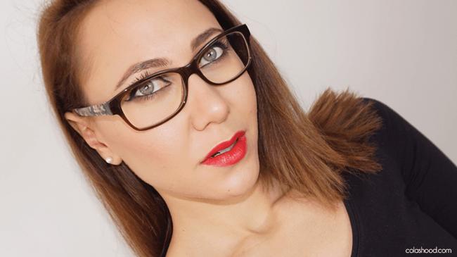 maquillage lunettes mascara