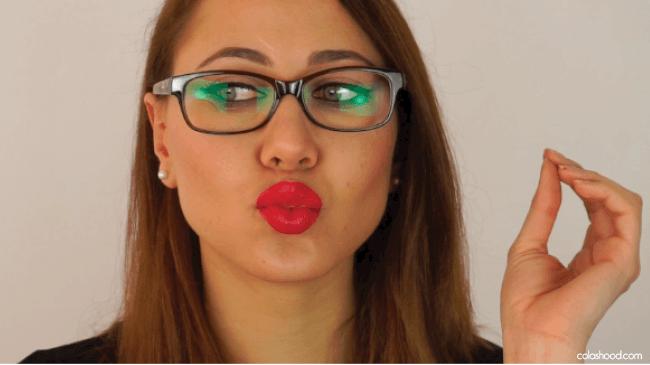 maquillage pour lunettes