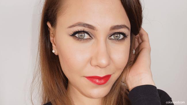 maquillage teint lunettes