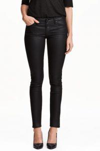 jeans huilé noir