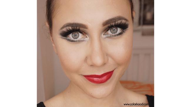 tuto maquillage cabaret nyx
