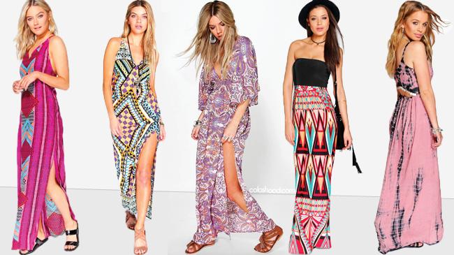 5 robes maxi tendance
