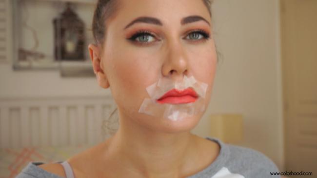 contouring scotch lèvres