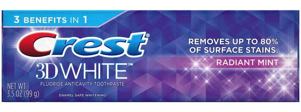 dentifrice c'est pour avoir les dents blanches