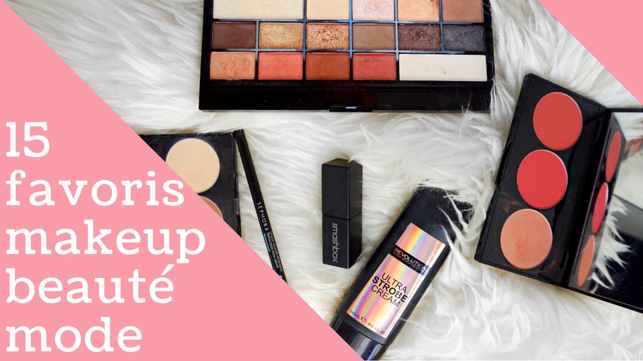 favoris beauté makeup