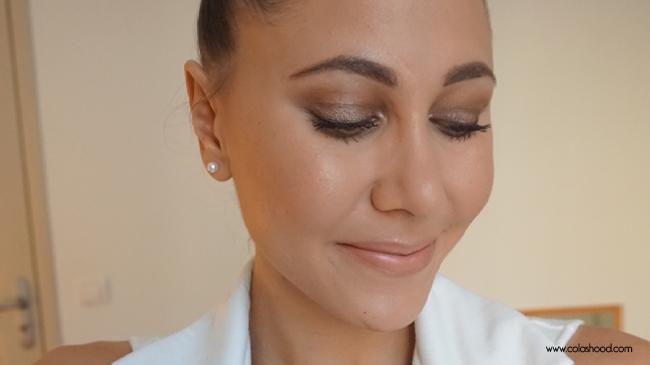makeup grwm soirée blanche
