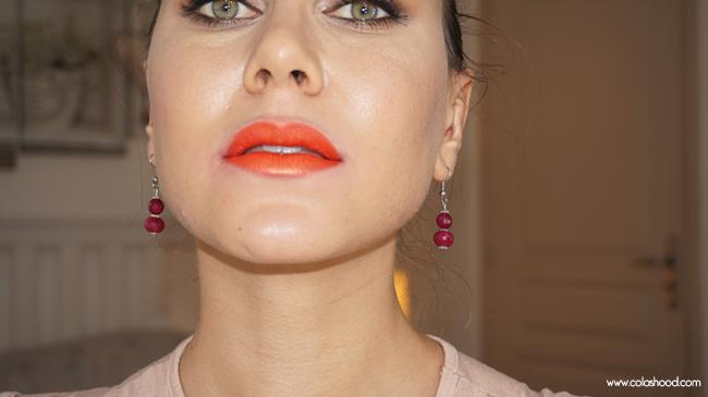 lèvres métalliques diy