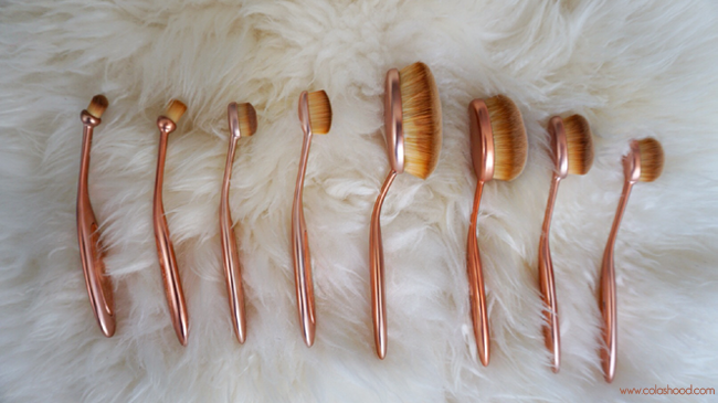 makeup révolution pinceaux precision brush