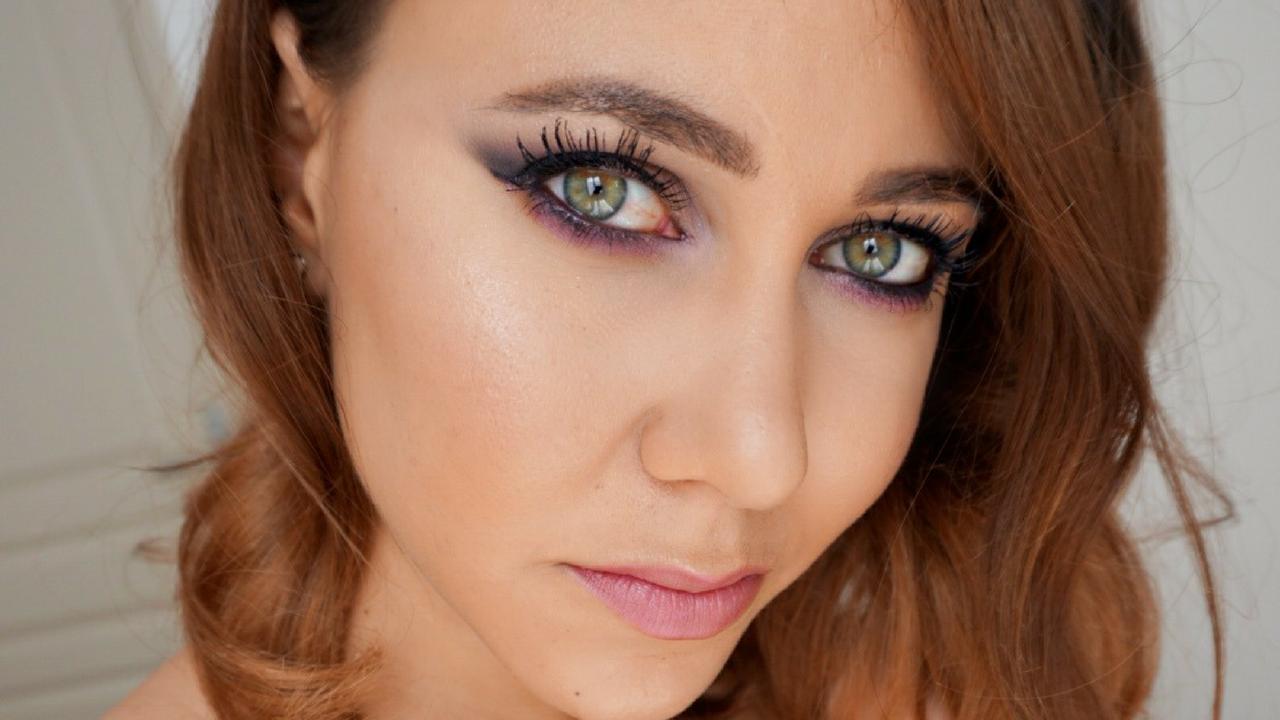 maquillage violet automne 2016