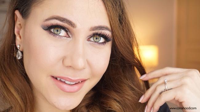 maquillage de fete yeux verts
