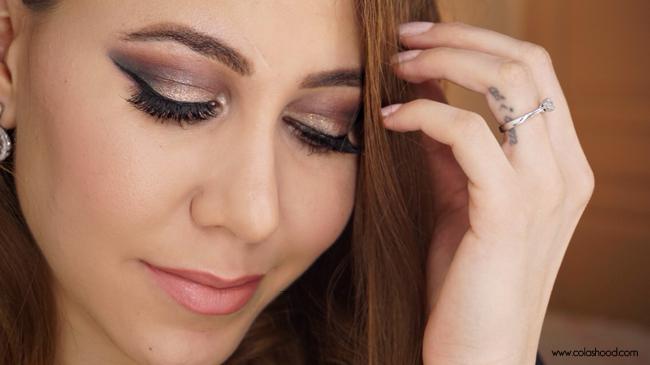 maquillage de fete yeux