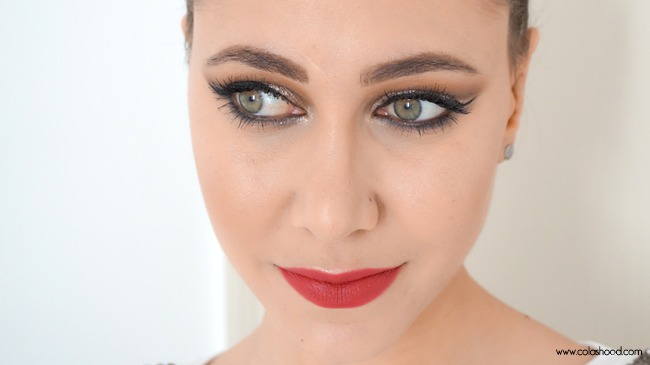 tuto maquillage soiree yeux verts