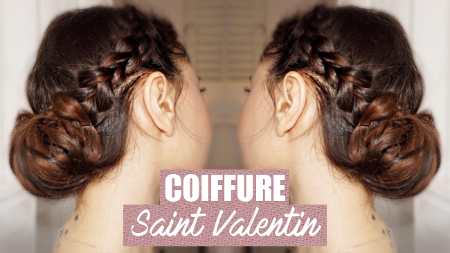 coiffure pour la saint valentin