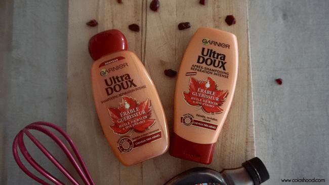 shampoing garnier erbaue huile de ricin