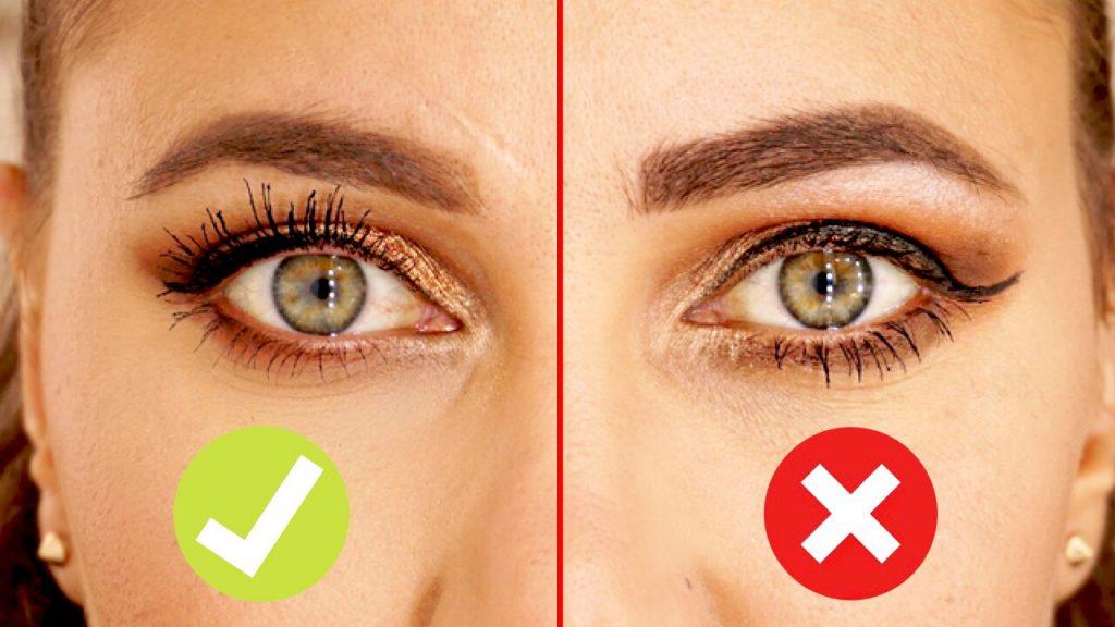 Erreur maquillage yeux