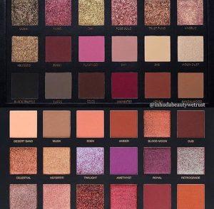 palettes huda beauty