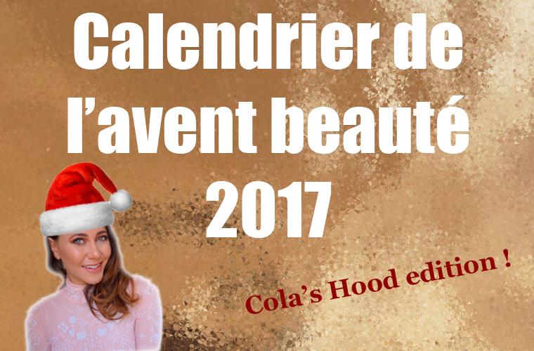 calendrier de l'avent beauté 2017