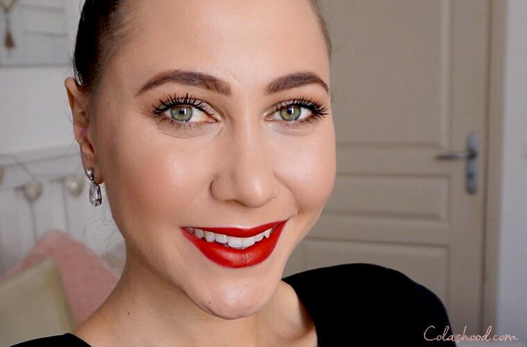 maquillage de noel  facile