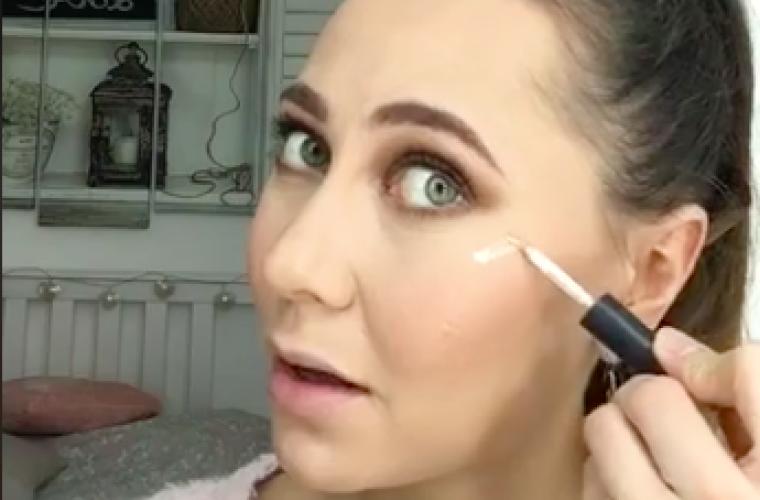 maquillage fetes de fin d'année
