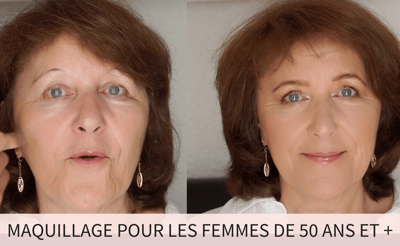 MAQUILLAGE FEMME 50 ANS