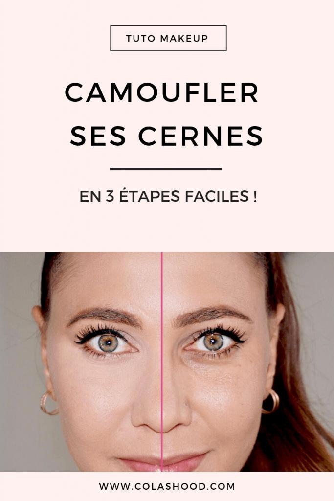 Maquillage cernes