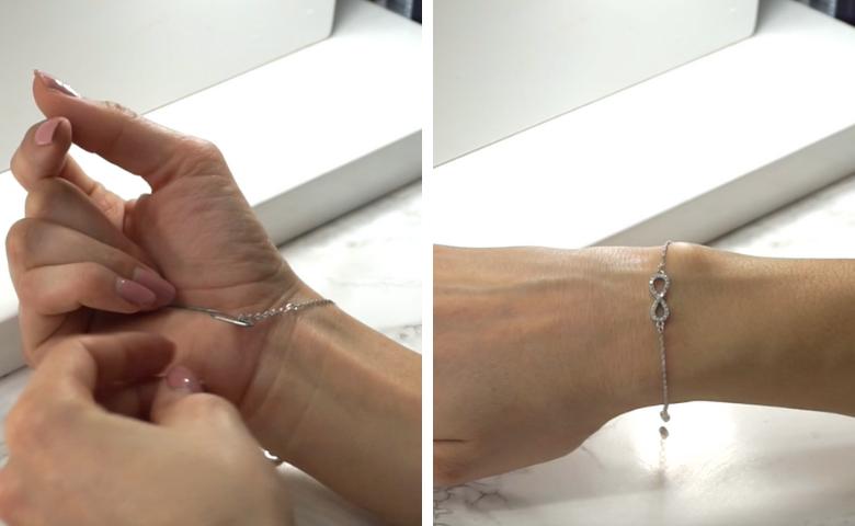 fermer seule bracelet