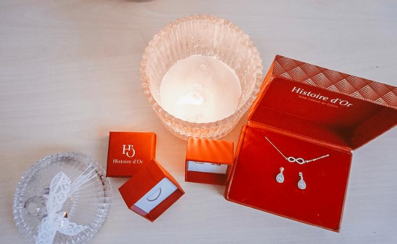 DIY bougie bijoux