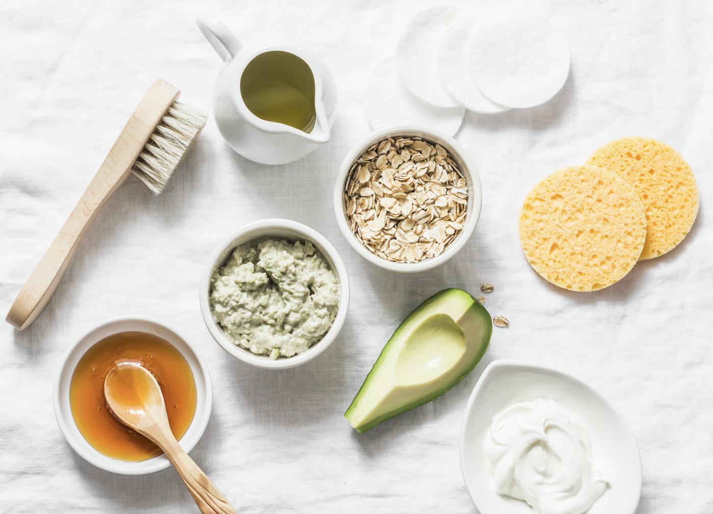 Produits naturels pour le soin du visage
