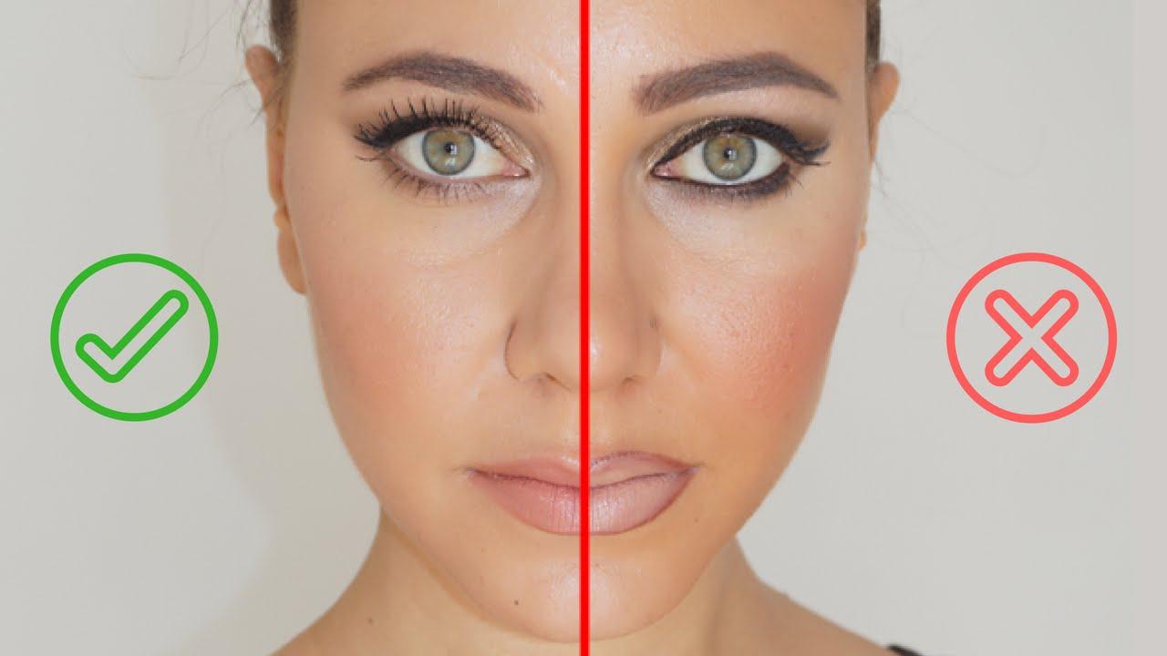 erreurs en maquillage